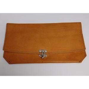 T Bird Leather Clutch